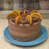 """Торт """" Шоколадно- апельсиновый"""""""